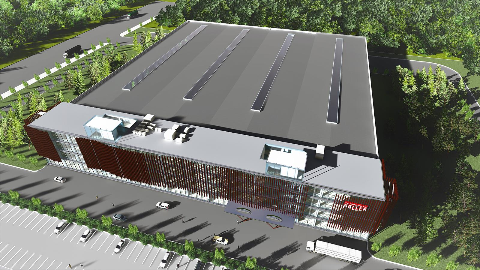 Die Koller-Gruppe expandiert weiter und baut erstes Leichtbauzentrum in China